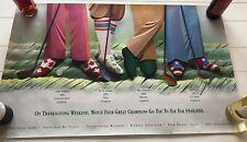 Rare Vintage Golf THE SKINS GAME Bighorn Golf Club Greg Norman Payne Stewart & F