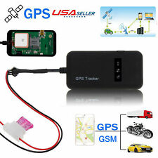 KKmoon GPS Sat/élites GSM Localizador Tracker Anti-rrobo Voz Monitor SMS APP iOS//Andriod Tiempo Real Localizaci/ón Alarma para Coche Moto Cami/ón