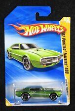 2010  Hot Wheels  Green  '67 Pontiac Firebird 400   Card #003   HW-14-121017