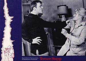 "TERENCE STAMP CAROL WHITE DONOVAN ""POOR COW"" 1968 LOBBY CARD KENNETH LOACH UK"