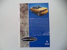advertising Pubblicità 1998 RENAULT MEGANE CABRIOLET