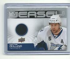 2010-11 UPPER DECK MATTIAS OHLUND UD GAME JERSEY LIGHTNING