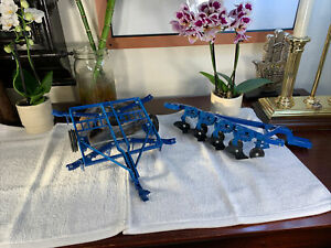 ERTL Ford Model 7710 Blue Toy Tractor 1:16 Diecast Accessories Parts ONLY - RARE
