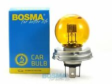 AMPOULE 6V 45/40W P45T R2 JAUNE VOITURE ANCIENNE COLLECTION CITROEN 2 CV PORSCHE