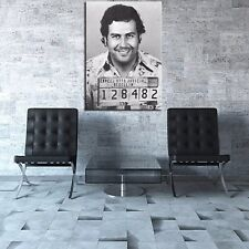Painting Pablo Escobar Mug Shot 1991 Vertical Wall Art Painting Picture Poster
