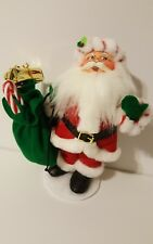 Annalee Dolls 2008 Peppermint Twist Santa with Bag of Toys NEW!