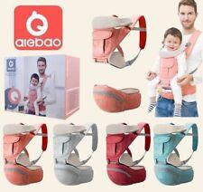 Ergonomic Baby Carrier Adjustable Backpack Infant Hip Seat born Breathable UK