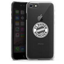 Apple iPhone 8 Handyhülle Case - FC Bayern München Logo einfarbig transparent