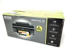 Epson WorkForce 30 Color Inkjet Printer NEW- Open Box