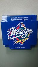 NOS Zippo Lighter 1999 World Series Still Sealed Yankees vs Braves RARE