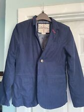 Boden Boys Navy Cord Jacket 11-12 Immaculate Condition