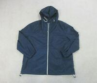 VINTAGE Nautica Jacket Adult Extra Large Blue Full Zip Sailing Coat Mens 90s B93