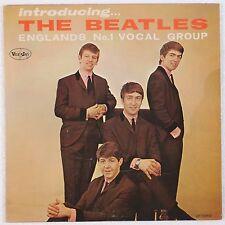THE BEATLES: Introducing the Beatles VEE JAY ORIG! Super VG+ VINYL LP HEAR!