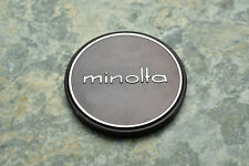 Genuine Minolta Metal 57mm Push On Front Lens Cap for 55mm Front (2729)