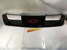 """1991-1992 CAMARO BLACK GRILLE WITH RED """"BOWTIE"""" EMBLEM NEW GM # 10139545"""