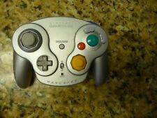 Nintendo Gamecube Wavebird controller silver wireless wave bird DOL-004 used