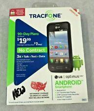 TracFone LG Optimus Fuel Android SmartphoneTouchscreen OPK-TFL34C Brand New