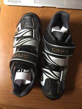 NEW! Giro Reva Women's  Shoe Size 37eu/ 5.75 black/ Silver /gold