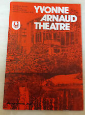 1985 Yvone Arnold Theatre: Topal in A VIEW FROM THE BRIDGE - by Arthur Miller