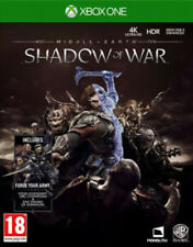 Middle-Earth Shadow Of War & Forge Your Army DLC Xbox One * NEW SEALED PAL *