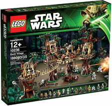 Lego Star Wars  Ewok Village - 10236 Return Of The Jedi Mini Figures New/sealed