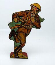 Vintage 1930s MARX Tin Litho WWI Infantry Soldier 1st Lieutenant / Doughboy #20