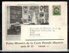 1947-Enveloppe/Document-Algérie via Tunisie-Ecrivain V.Sardou-Olympia-Yv.Préo.18
