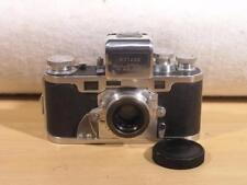 Extremely Rare Swiss Alpa-Reflex Ca.1946 35mm SLR w/5cm F2.8 Old Delft Lens