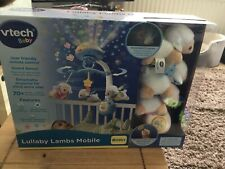 VTech Lullaby Lambs Soothing Mobile For Baby|Lights & Sound + Remote Control|0+M