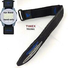 Timex Bracelet de rechange t51561 Ironman Triathlon,nylon fermeture scratch -