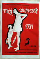 XL HiQ Facsimile of 1958 Mon Oncle Movie Poster~ 36 x 24 ~Polish, Pierre Etaix