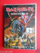 2 dvds iron maiden maiden england 88 live concert recorded birmingham 1988 music