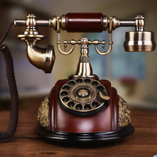 Antique Style Rotary Phone Princess French Style Old Handset Telephone Fei34