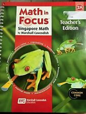 Math in Focus: Singapore Math: Teacher's Edition Book A Grade 2 2013 by GREAT