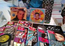 Elvis Collectibles Tv Guides/Calenders/Pop-Up Card/Gift Bag/See Details!