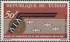 Timbre Aviation Tchad PA10 ** lot 22011