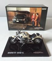 JAMES BOND 1:18 BMW R1200 C MOTORCYCLE TOMORROW NEVER DIES BMW DEALERSHIP LTD.ED