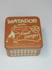 FOSSIL WATCH TIN BOX, El Matador Hotel ~collector Tin~(No Watch)