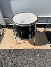 "More details for free p&p. 12"" floor tom drum. black finish. 12x9"""" ft106128"