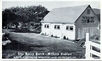 The Berry Patch Cabins Roadside Motel Brandon Pittsford Vermont Linen Postcard