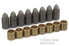 8 x 8mm Precision Model Railway Train Set Baseboard Alignment Dowel Pins Joiners