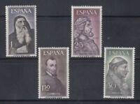 SPAIN (1963) MNH - NUEVO SIN FIJASELLOS SPAIN - EDIFIL 1536/39 PERSONAJES
