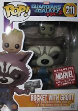 MARVEL COLLECTOR CORPS GUARDIANS OF THE GALAXY VOL 2 ROCKET WITH GROOT POP 211