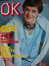 OK MAGAZINE 18TH MARCH 1978 - ROD STEWART - PAUL NICHOLAS