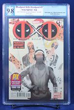 Deadpool Kills Deadpool #1 PGX (not CGC) 9.8 NM/MT Del Mundo SDCC Variant HTF