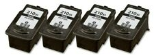 4 PACK PG-210XL Black Ink for Canon PIXMA iP2700 iP2702 MX320 MX330 MX340 MX350