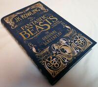 BOOK - *1st Ed* Fantastic Beasts & Where To Find Them Original Script HB 2016