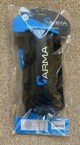 Shires ARMA Air Motion Brushing Boots - Cob - Black