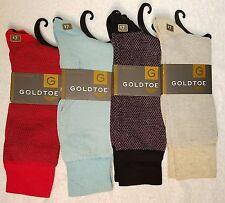 GoldToe Men Socks, Combed Cotton, 4 Pairs Pebble Beach Color Assortment