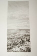 COMBAT D'ALDENHOVEN PRISE DE JULIERS 1794 GRAVURE 1838 VERSAILLES R1364